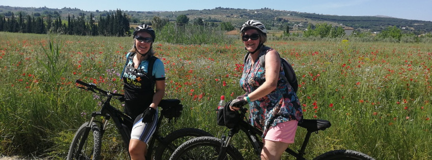 Mountain biking or Ebiking experience in Ronda Hotel