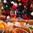Paquete festivo de navidad